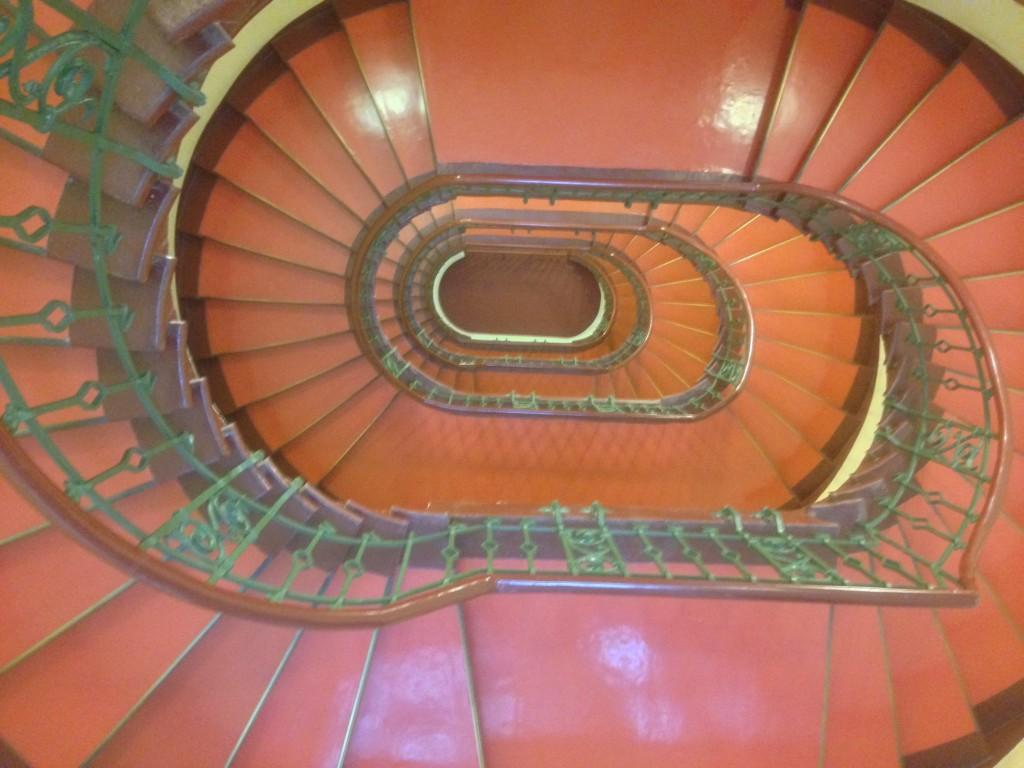 Treppenaufgang im Abgeordnetenhaus, Berlin.